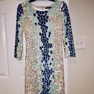 Sequins French Connection Cocktail Dress